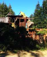 Scotts Valley residents said it was a sad day for historical preservation in north Santa Cruz County. (June 27, 2014)