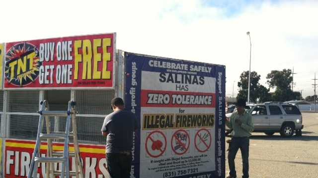 Saturday marks the start of Safe and Sane fireworks sales.