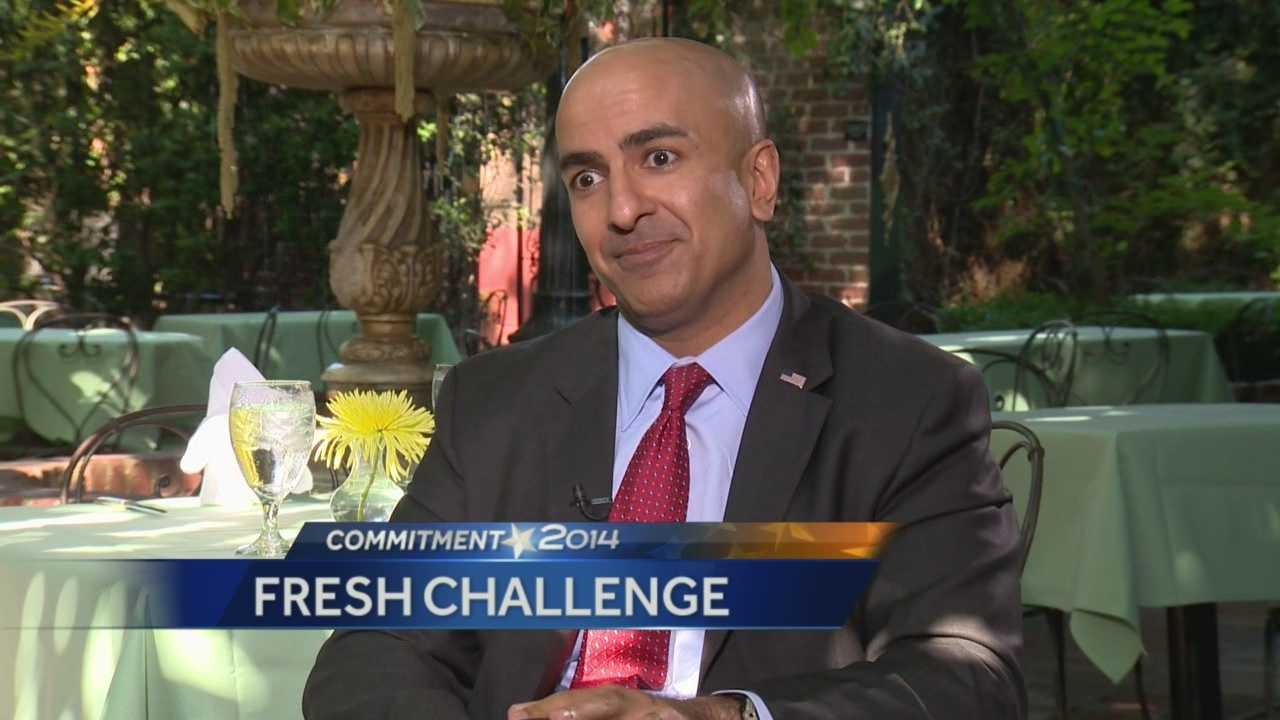 Republican candidate Neel Kashkari offers a fresh challenge to Governor Brown.