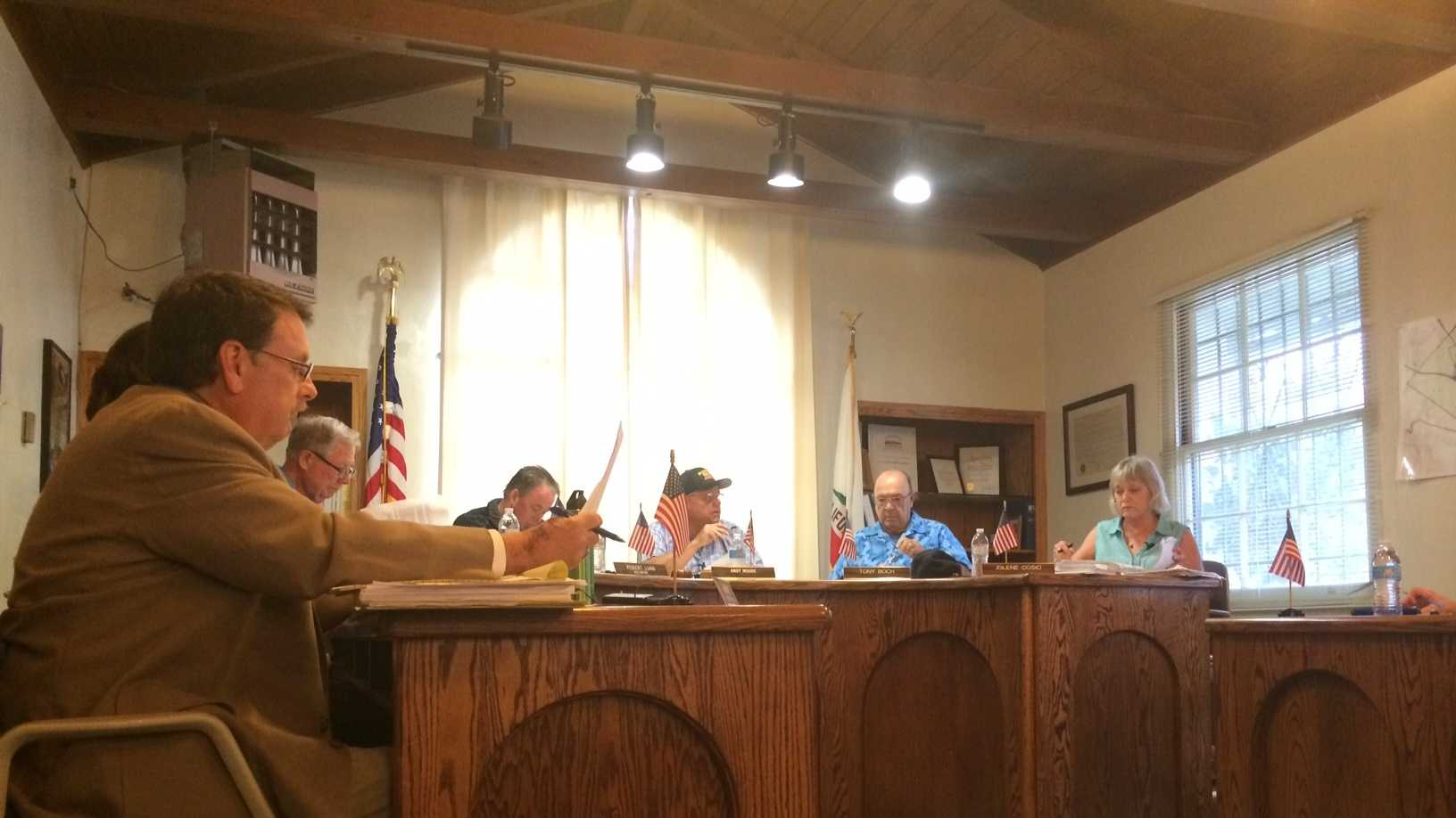 San Juan Bautista City Council gives update on water issue