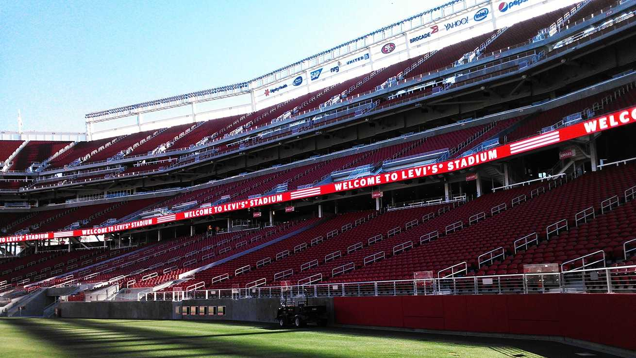 Levi's Stadium is seen on July 17, 2014.