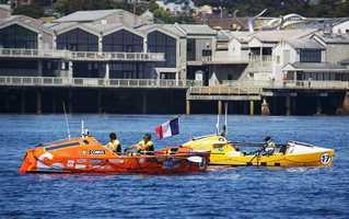 Starting line in Monterey