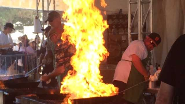 Thousands of people head to Gilroy Garlic Festival despite high temperatures