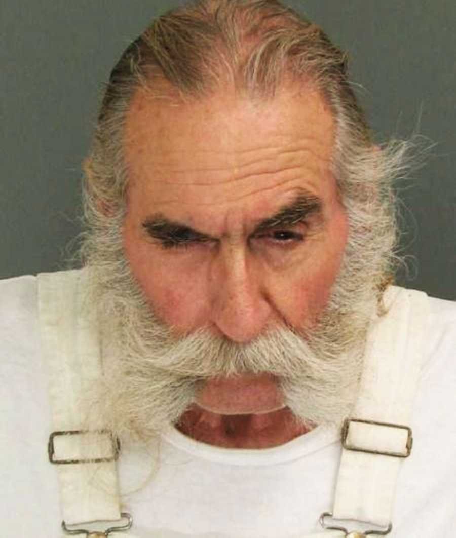Lee Bjorn, 67, Santa Cruz, was arrested by California Department of Corrections officers for violating parole on July 25.