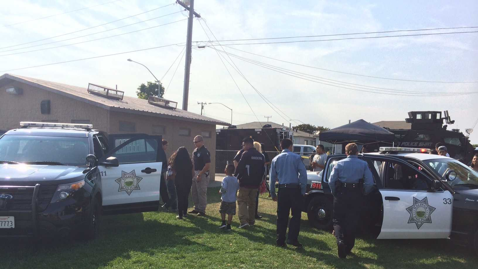 Salinas national night out gives neighbors, police opportunity to talk