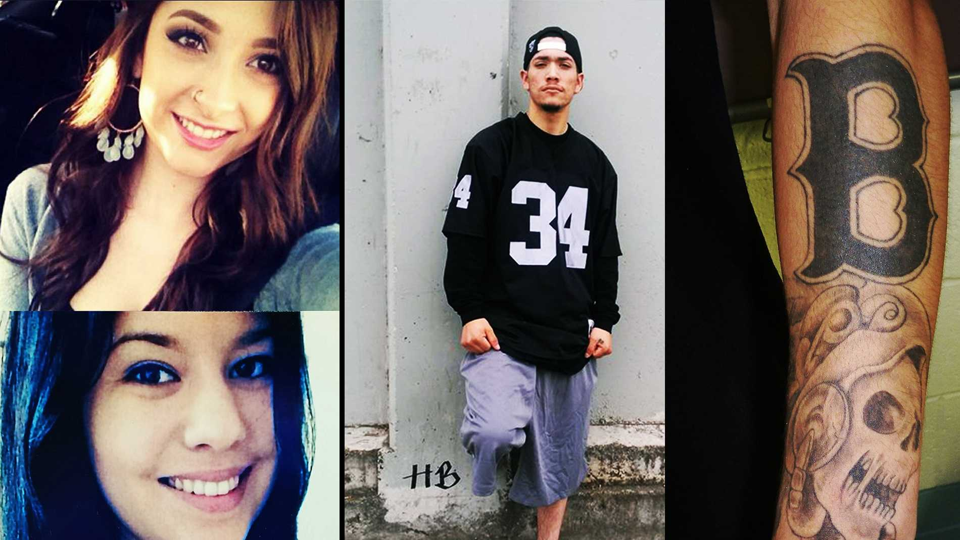 Ariana Zendejas, top left, Vanessa Flores, bottom left, and Jose Barajas, right.