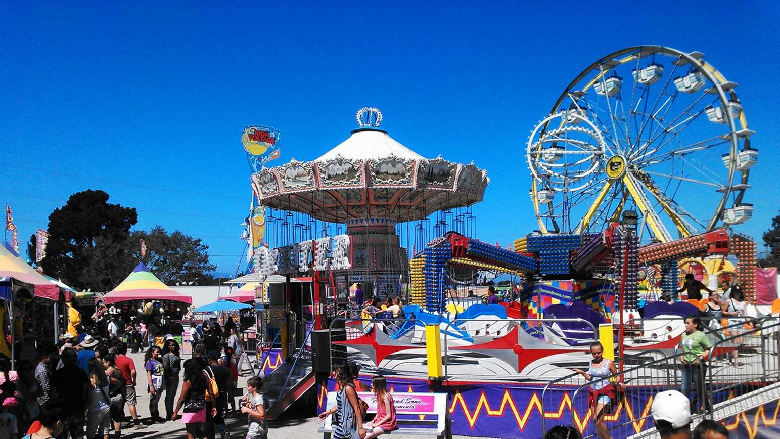 The Monterey County Fair was filled with fun and games on Monday.