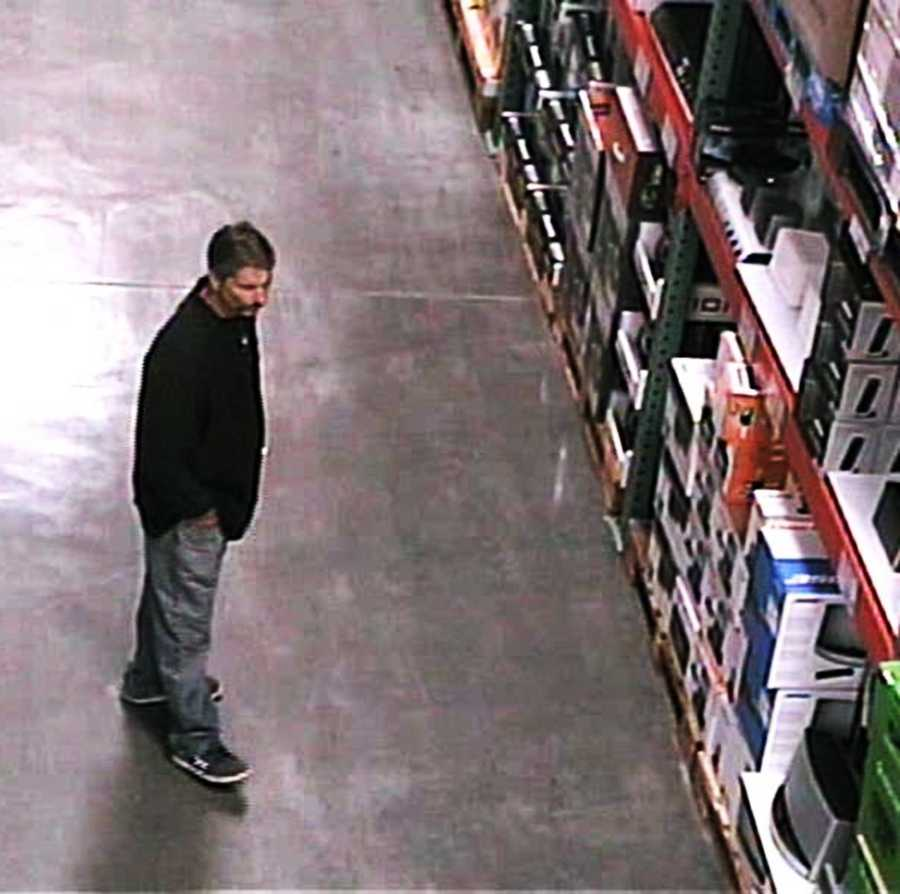"""""""Fialho was dubbed 'El Mustachio The Magician' for his distinctive mustache captured on security surveillance from Costco, and for his ability to make merchandise disappear from store shelves and packaging,"""" Clark said. """"Fialho has taken electronics merchandise from the store on a number of occasions."""""""