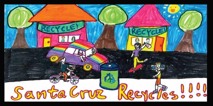 Drawing by Reva Beltran, 5th grade,De Laveaga Elementary School