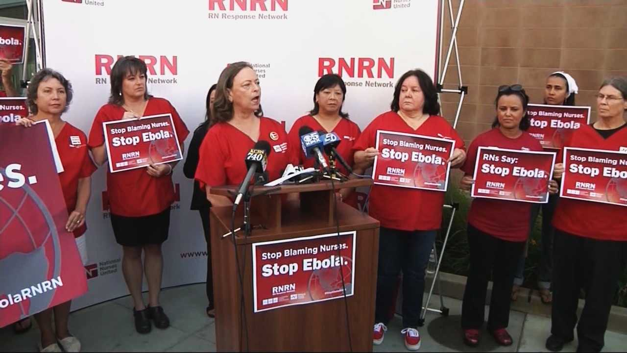 Gov. Jerry Brown met with the nurses union on Tuesday to discuss new protocols in regards to the Ebola outbreak.