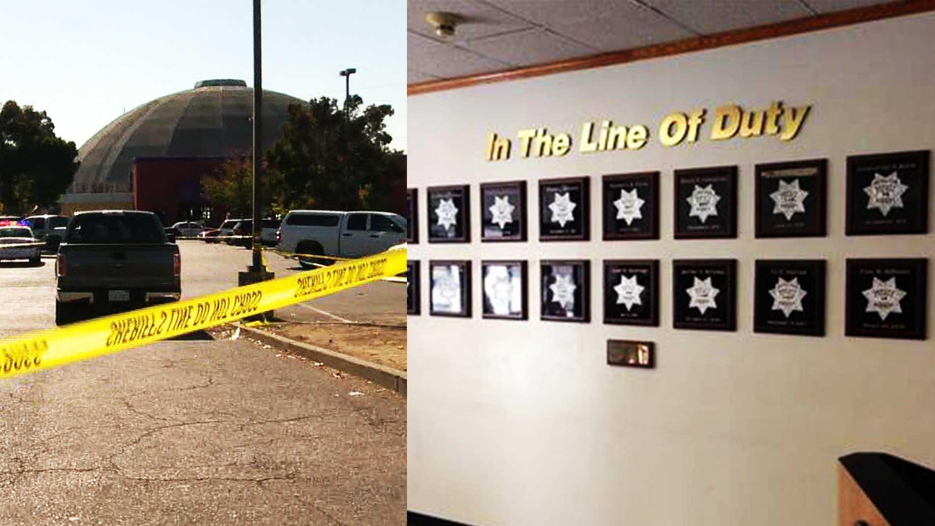 Shooting scene / Sacramento County Sheriff's Office