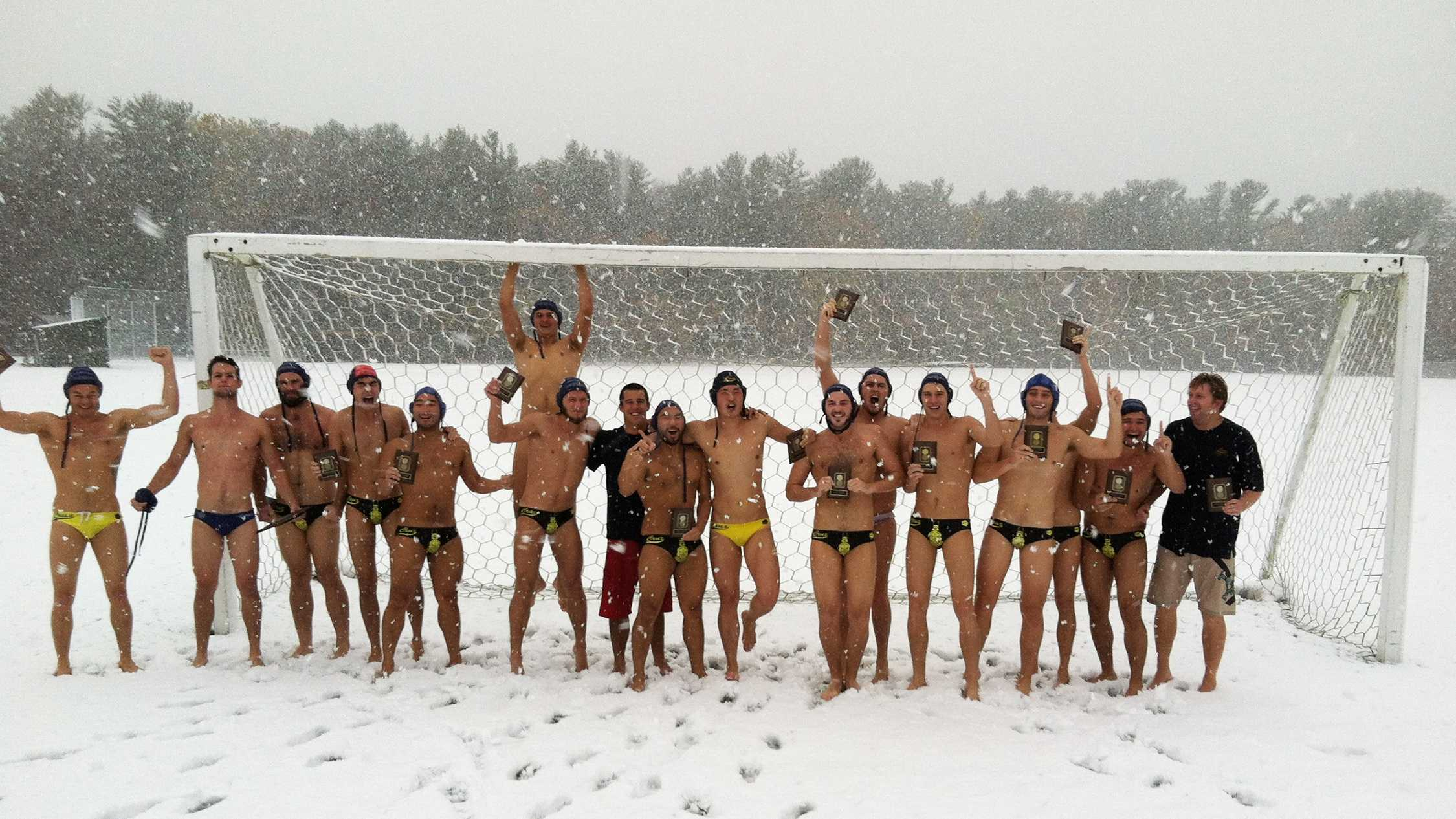 UC Santa Cruz's water polo team is not afraid of chilly temperatures.