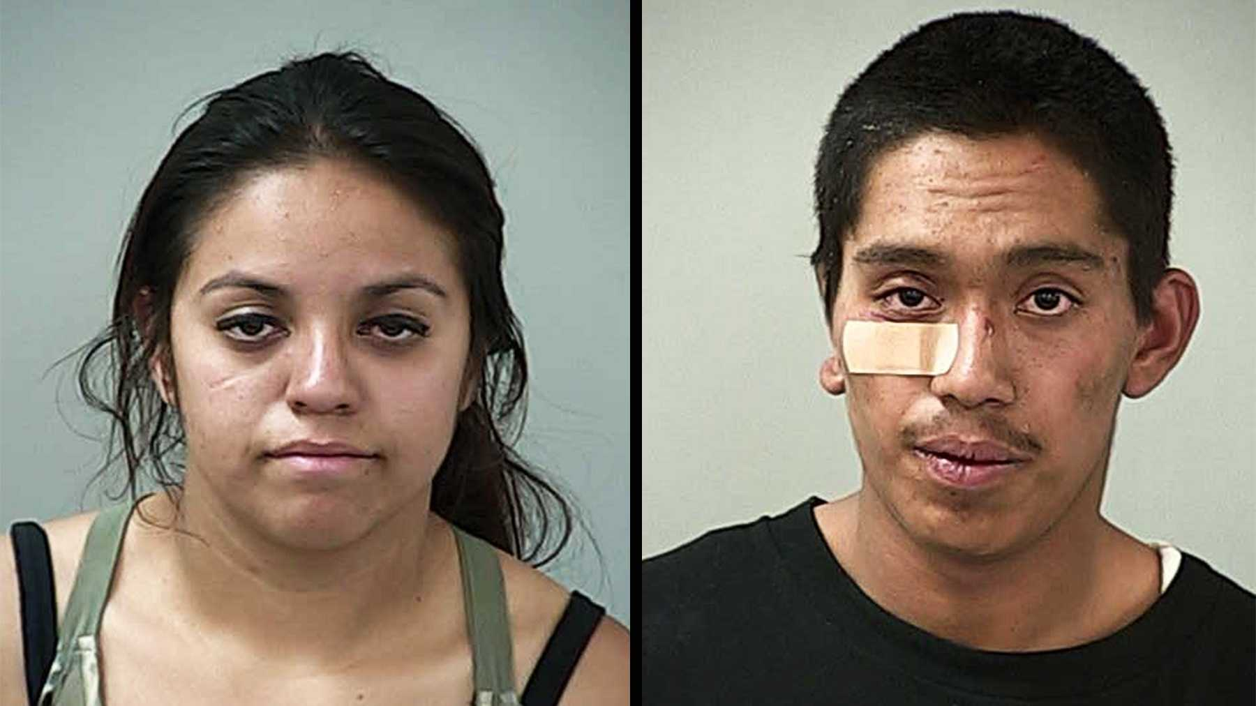 Carmen Tellez, 20, and Miguel Angel Mejia, 18, live in San Jose.