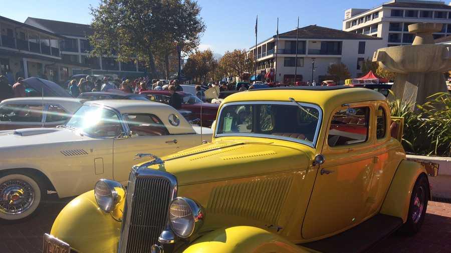 Monterey Car Show Wows Automobile Fans - Monterey car show