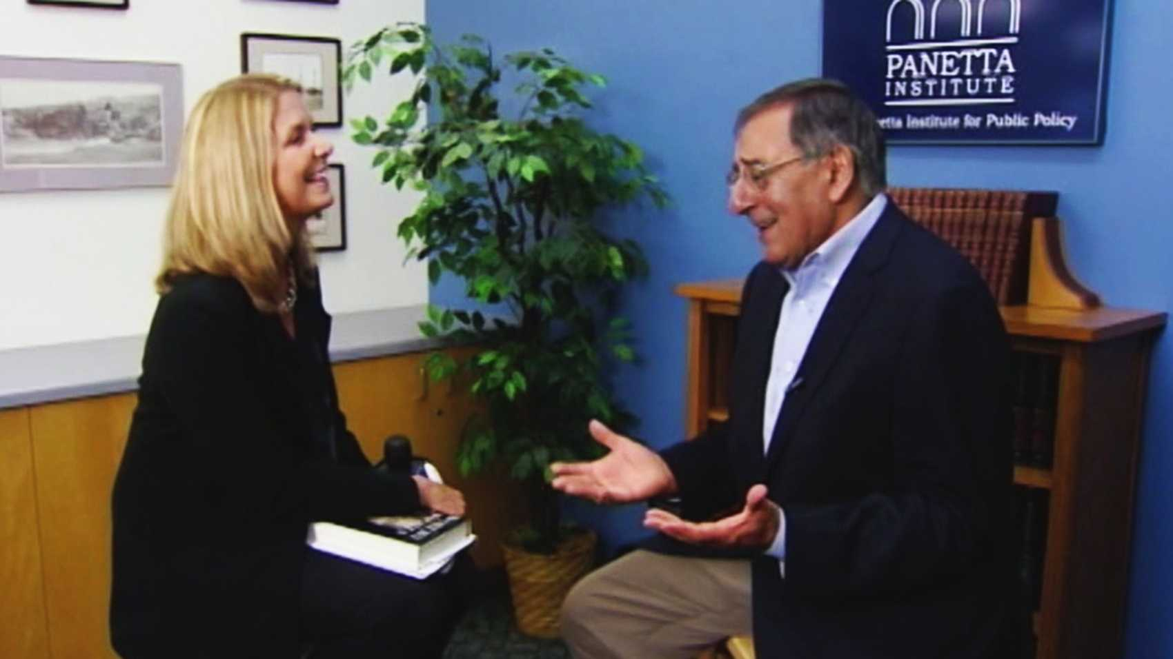 Erin Clark interviews Leon Panetta at the Panetta Institute.