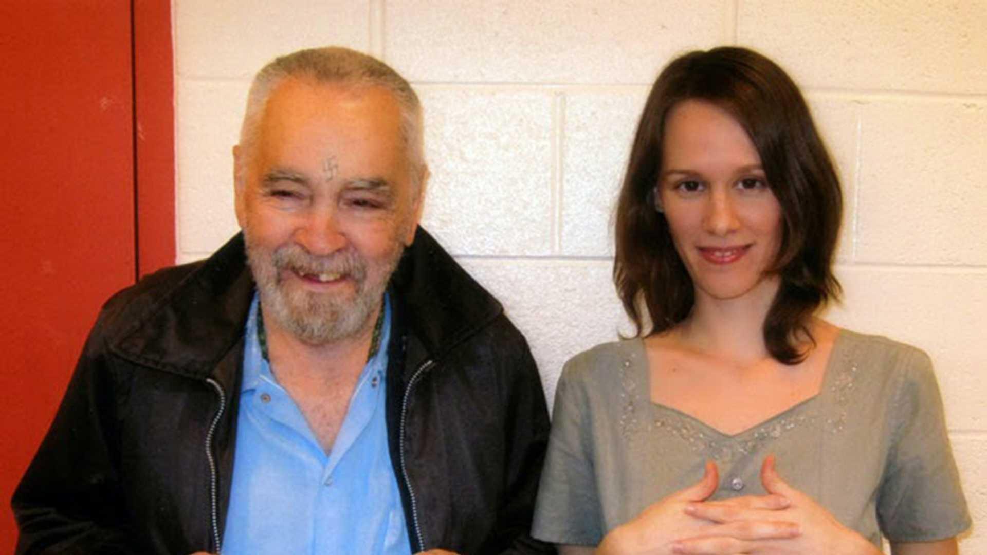 "Charles Manson and Afton ""Star"" Elaine Burton"