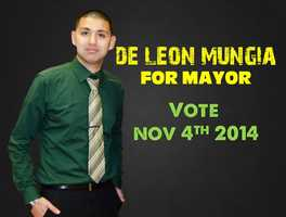 Mungia ran for mayor of Greenfield in November but lost to incumbent John Huerta Jr., 630 votes-798 votes.