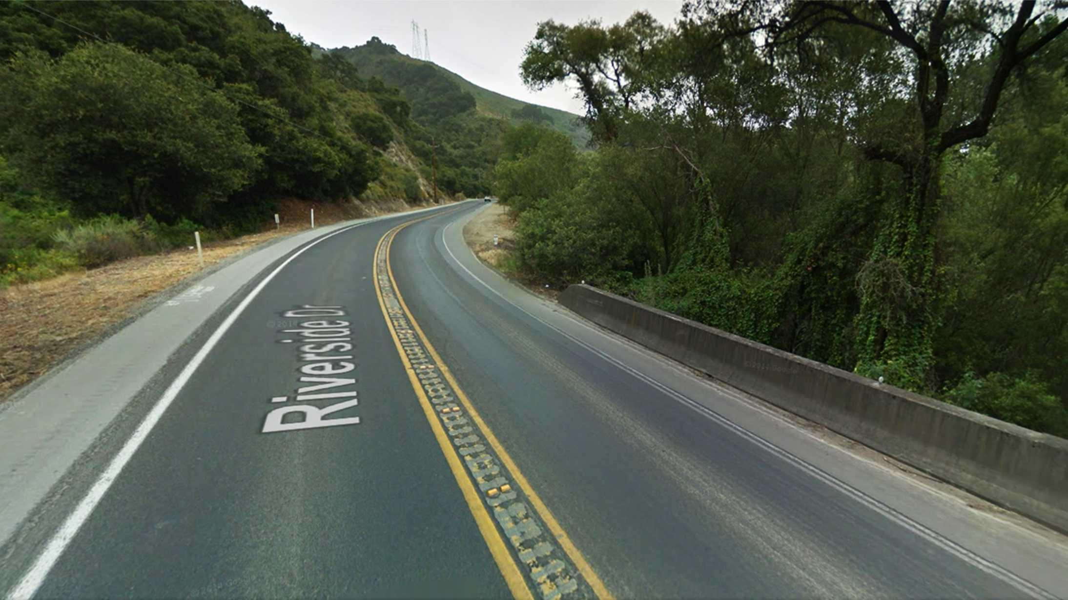 Highway 129 nearOld Chittenden Road
