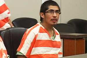 Immediately after killingDaniel Fraga, 26, and Hector Reyes, 23, Salazar fled to Mexico with his underage girlfriend. That prompted a statewide Amber Alert.