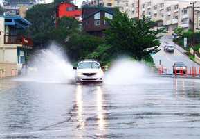 Rio Del Mar was flooded by the beach. Dec. 11.