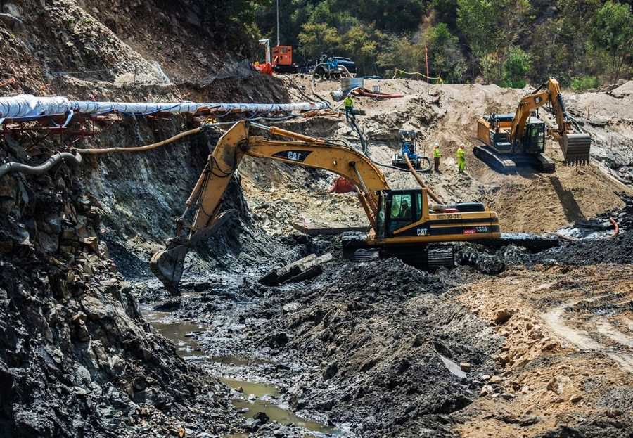 The San Clemente Reservoir is 95 percent full of mud and was declared a seismic hazard by the California Department of Water Resources' Division of Safety of Dams as far back as 1992. It has been out of commission since 2002.