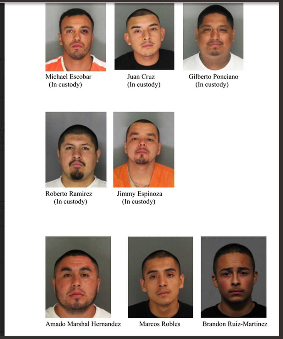On Dec. 15, Watsonville police announced eight men would all be charged with first-degree murder.
