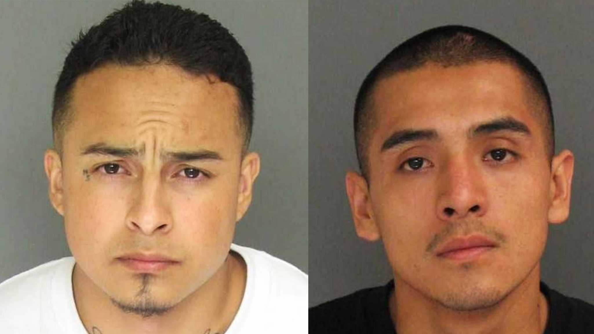 Marcos Robles and Brandon Ruiz-Martinez are wanted for murder.