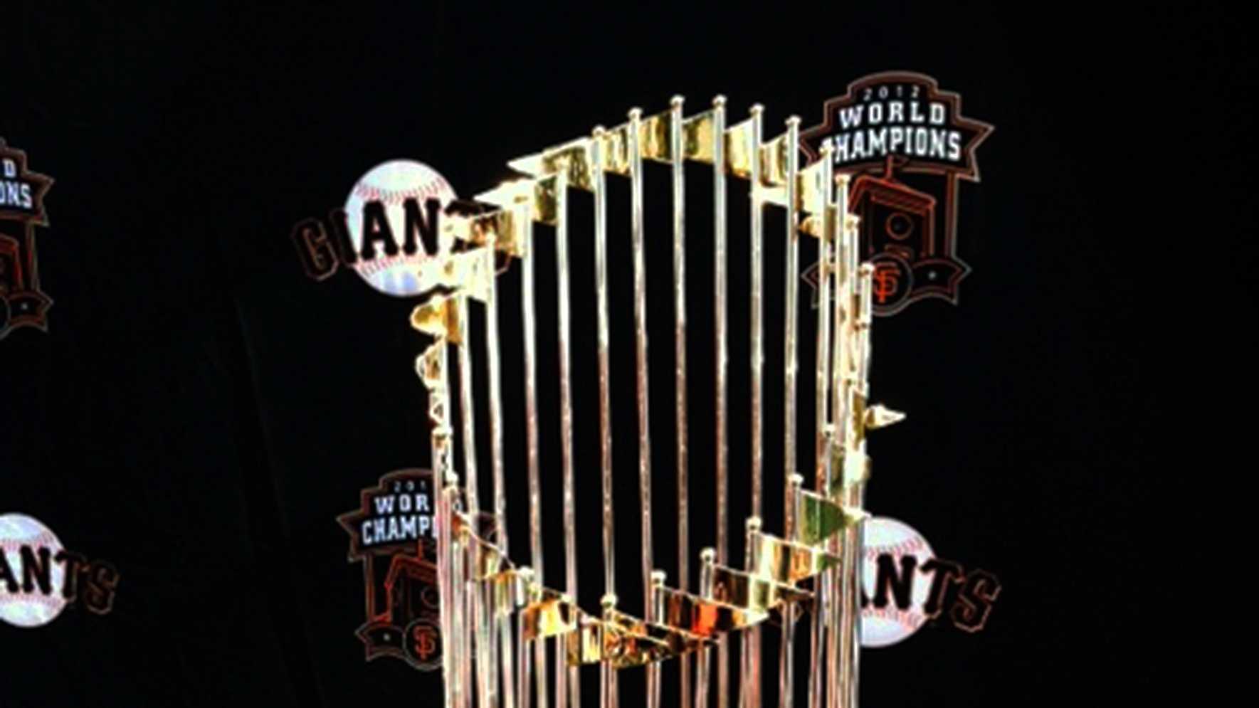 SF Giants World Series Trophy