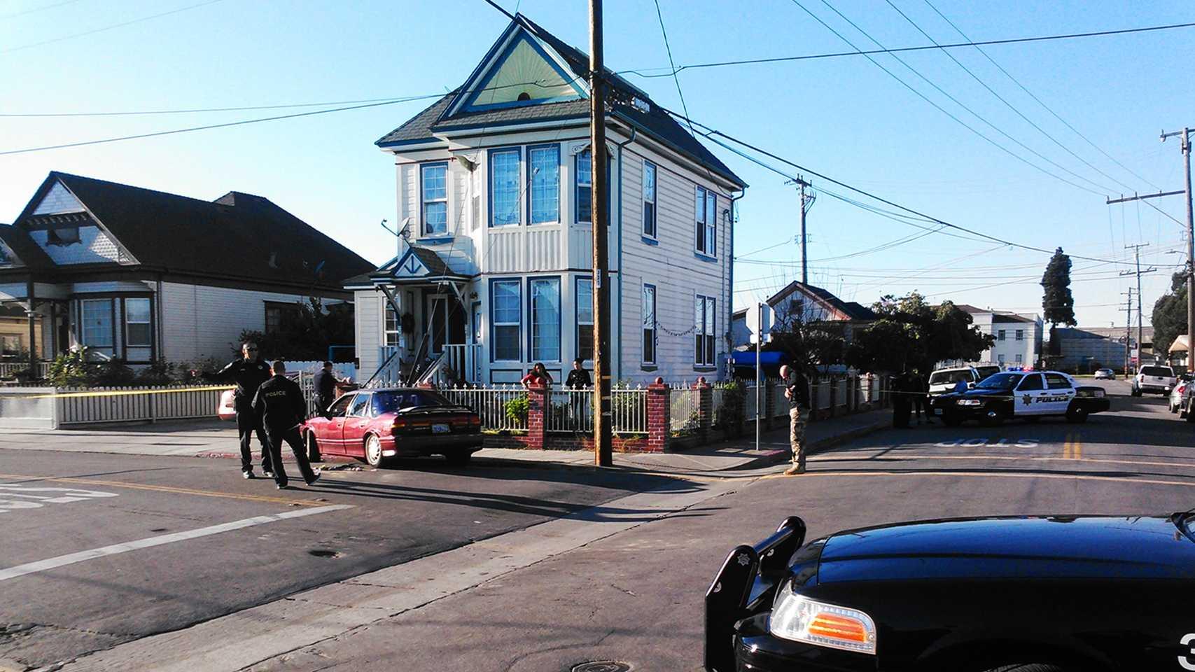 Watsonville homicide scene (Dec. 28, 2014)