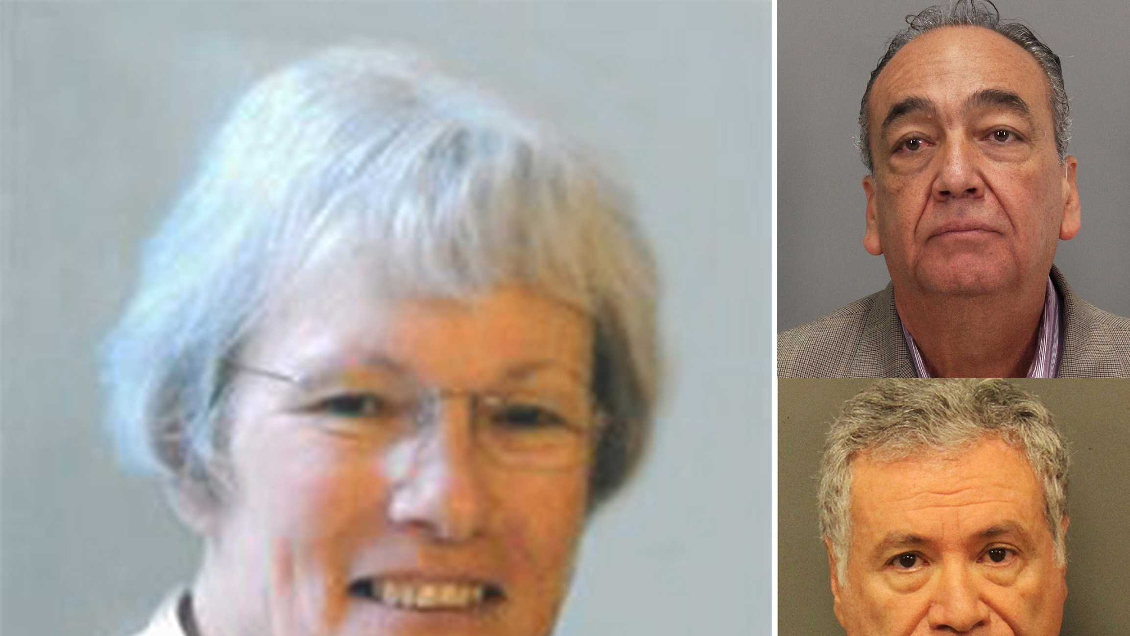 Doris Knapp, left, David Galvez, top right, and German Baldeon, bottom right.