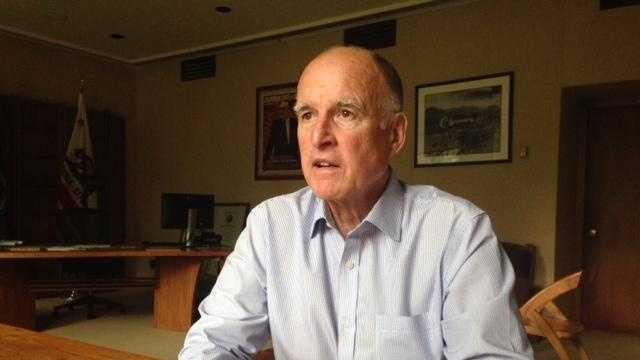 Gov. Jerry Brown  (Aug. 5, 2014)