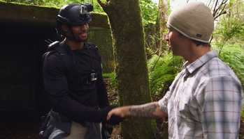 Hodges is tasked with helping average people survive in rugged wilderness. Hodges will not be with the two participants, but rather watching them through helmet cameras and aerial drones, and communicating advice through radio receivers.