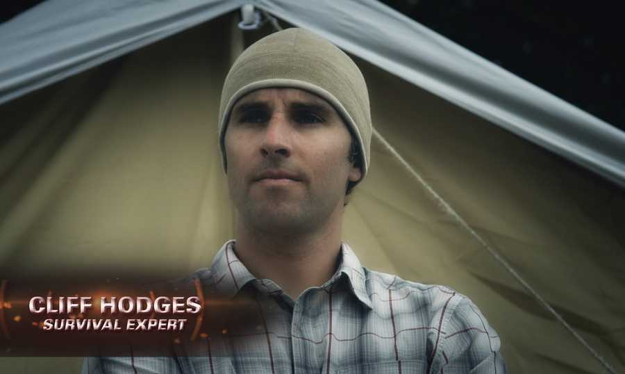 """Television crews have been filming Cliff Hodges over the past year for a new reality show, """"Remote Survival."""""""