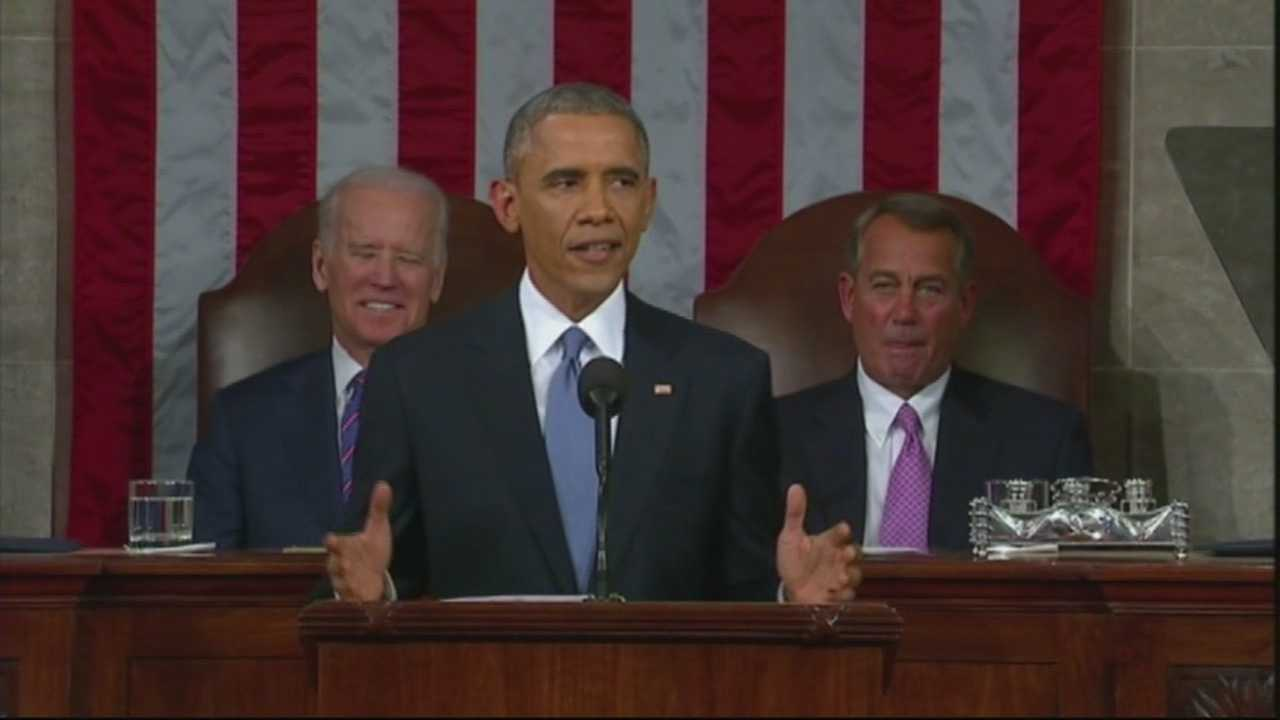 California congressional leaders had mixed reviews of President Obama's speech.  Some were encouraged by his address, while others say he pointed fingers at the political gridlock in congress.