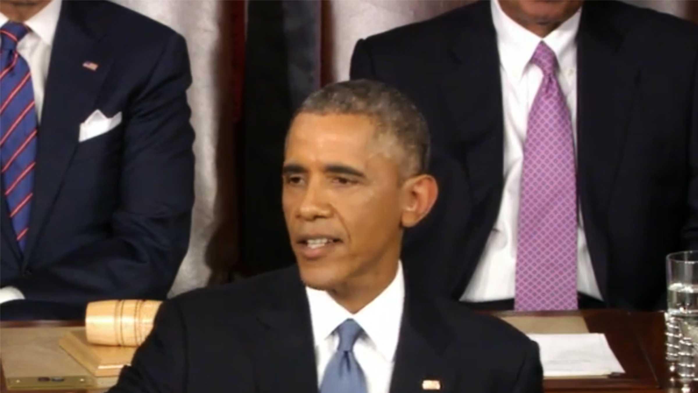 President Barack Obama (Jan. 20, 2015)