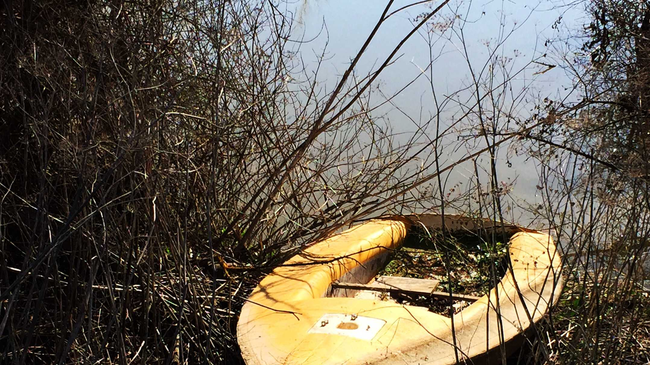 Several old boats, tires, and even poison containers were found at the bottom of the Pajaro River during a cleanup on Wednesday.