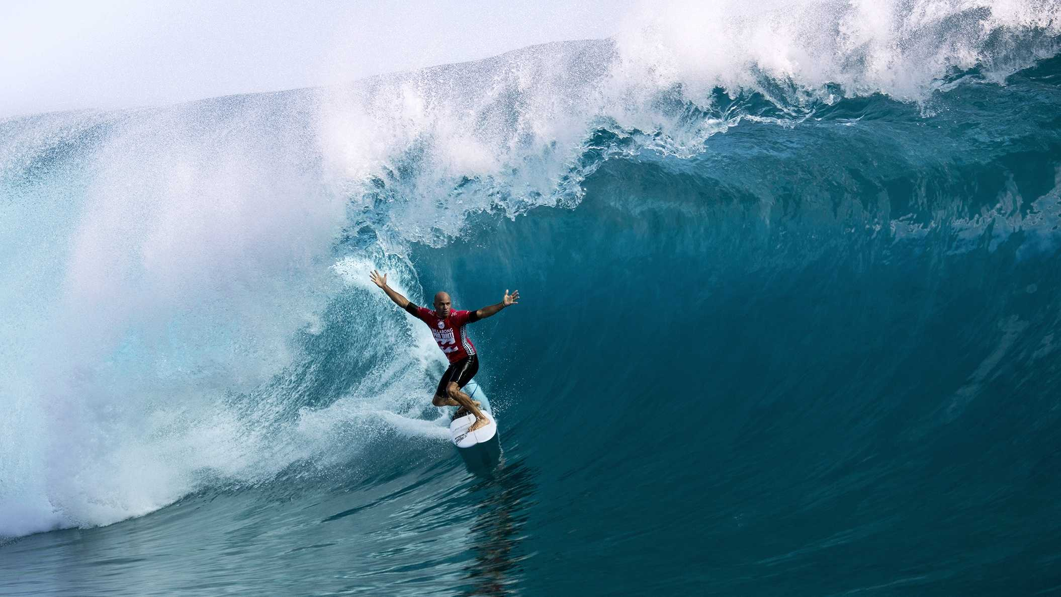Kelly Slater - World champion surfer