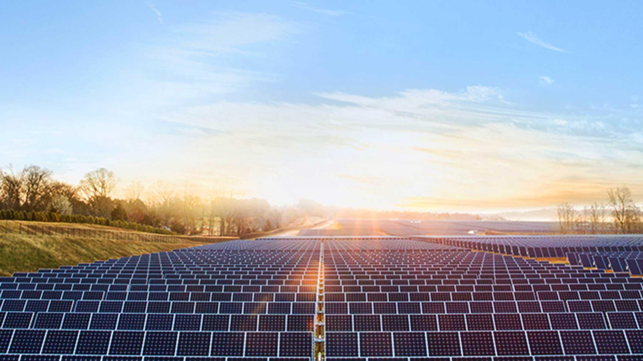 Apple's Maiden, N.C. solar farm