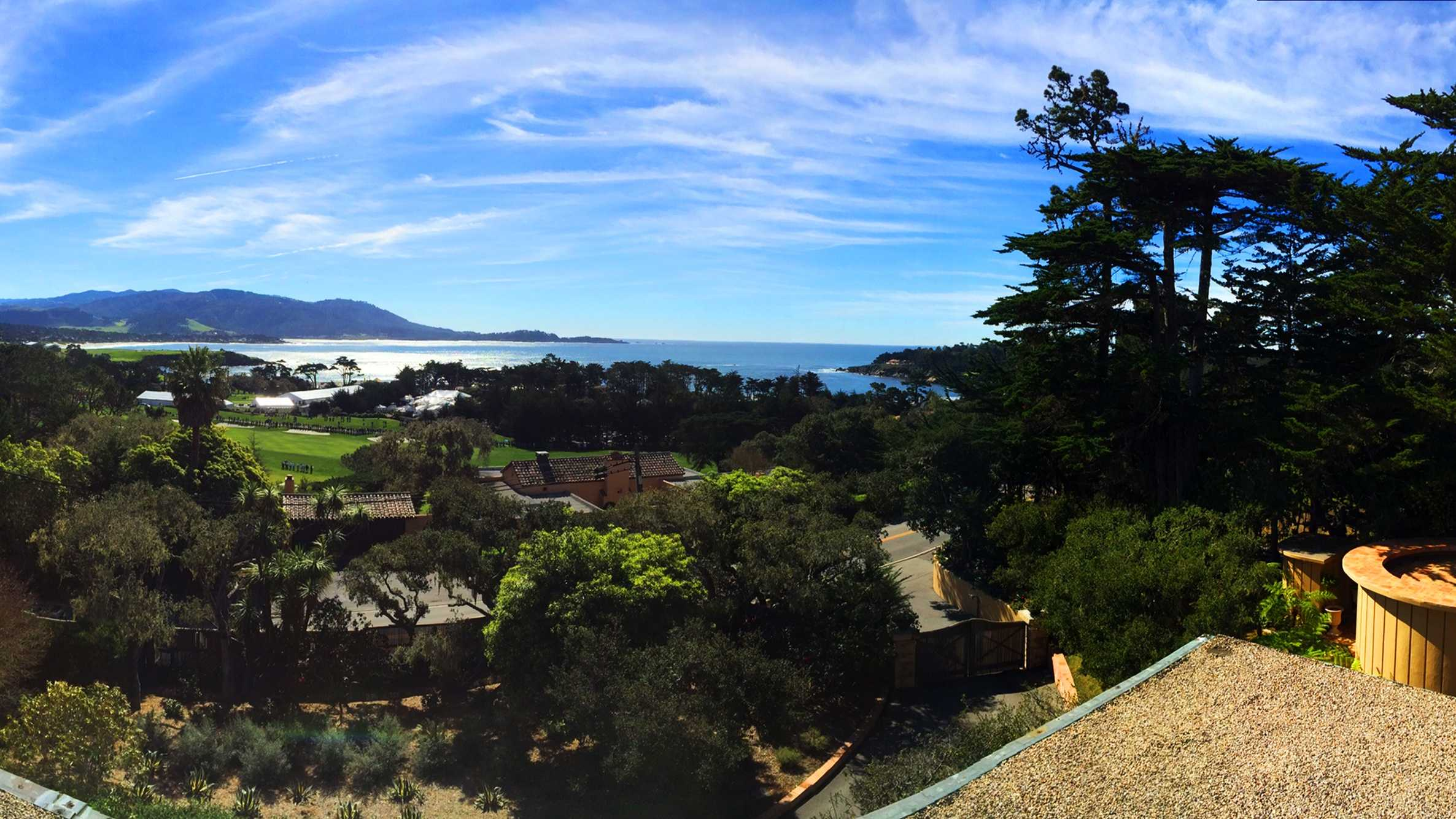 The Pebble Beach National Pro-Am was blessed with beautiful weather.