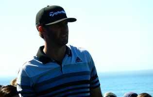 Pro golfer Dustin Johnson