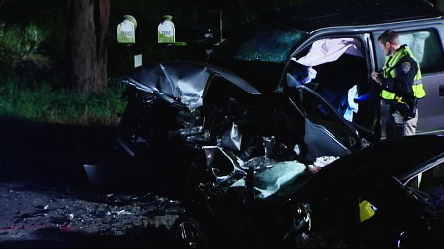 A fun night turned into a horrific nightmare when the black Mercedes sedan with seven people inside veered into oncoming traffic near Aptos High School. It collided head-on into a Ford F-150.