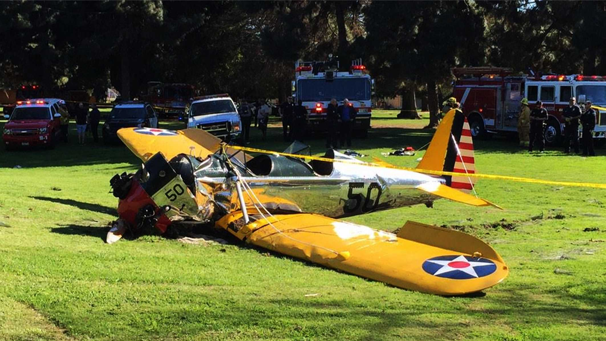 Harrison Ford crashed this plane on March 5, 2015.