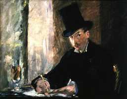 Manet, Chez Tortoni, 1878-1880