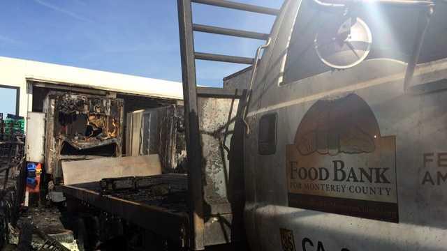 Monterey Food Bank Fire