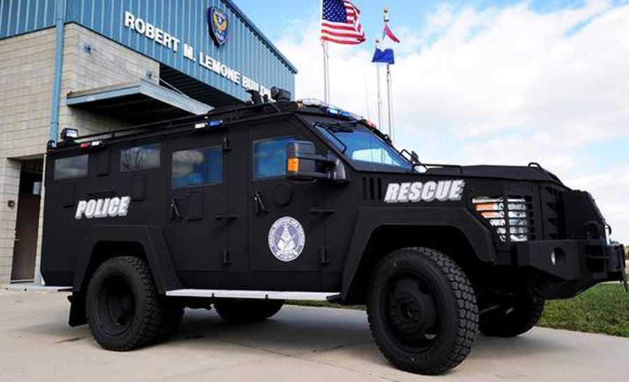 Santa Cruz: BearCat (Ballistic Engineered Armored Rescue Counter Attack Truck)