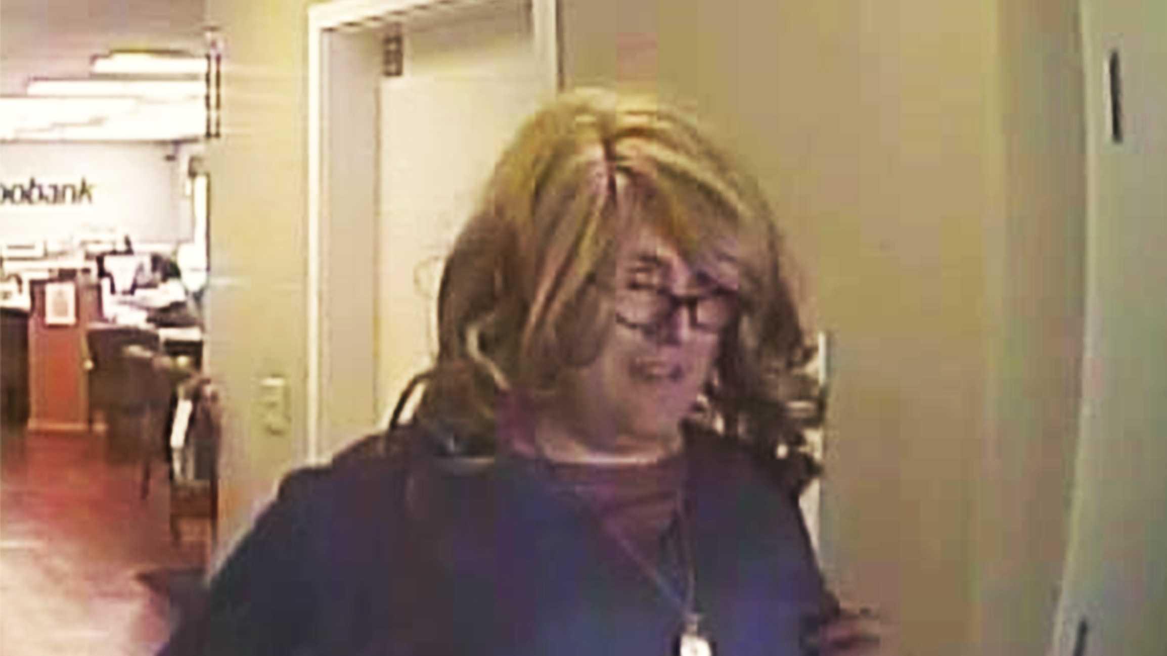 """Mrs. Doubtfire Bank Robber"""