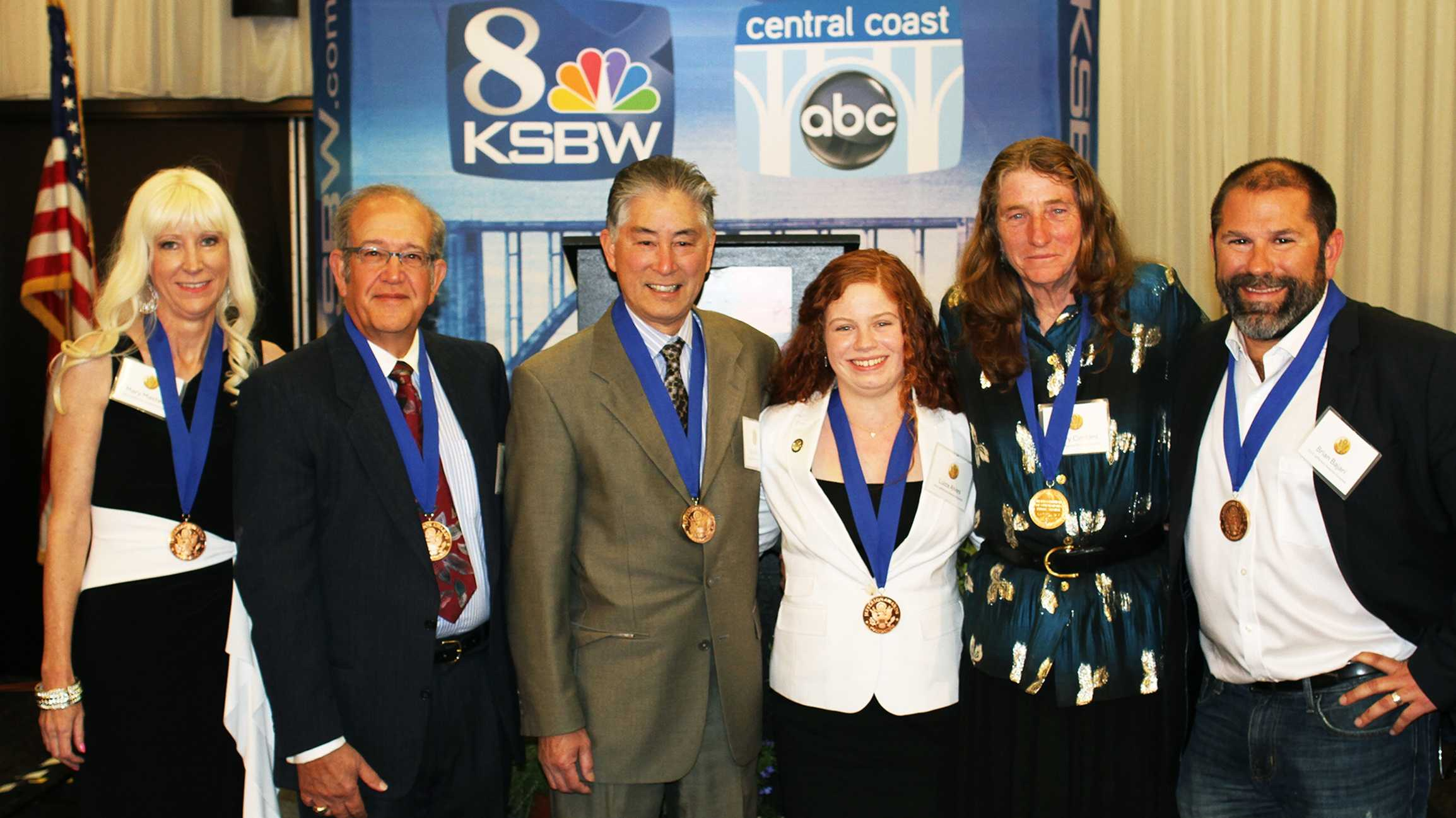 2015 KSBW Jefferson Award honorees