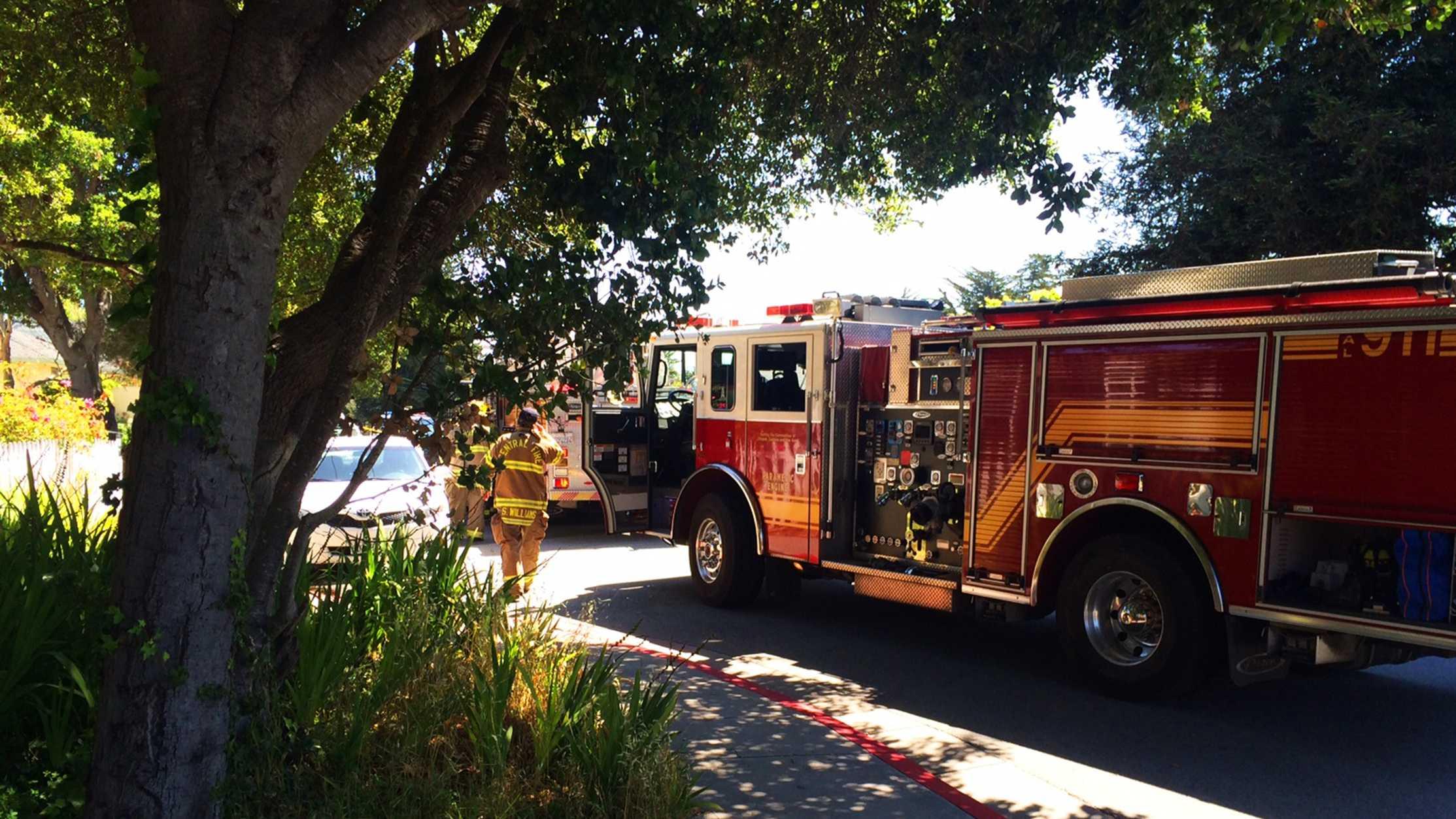Santa Cruz fire
