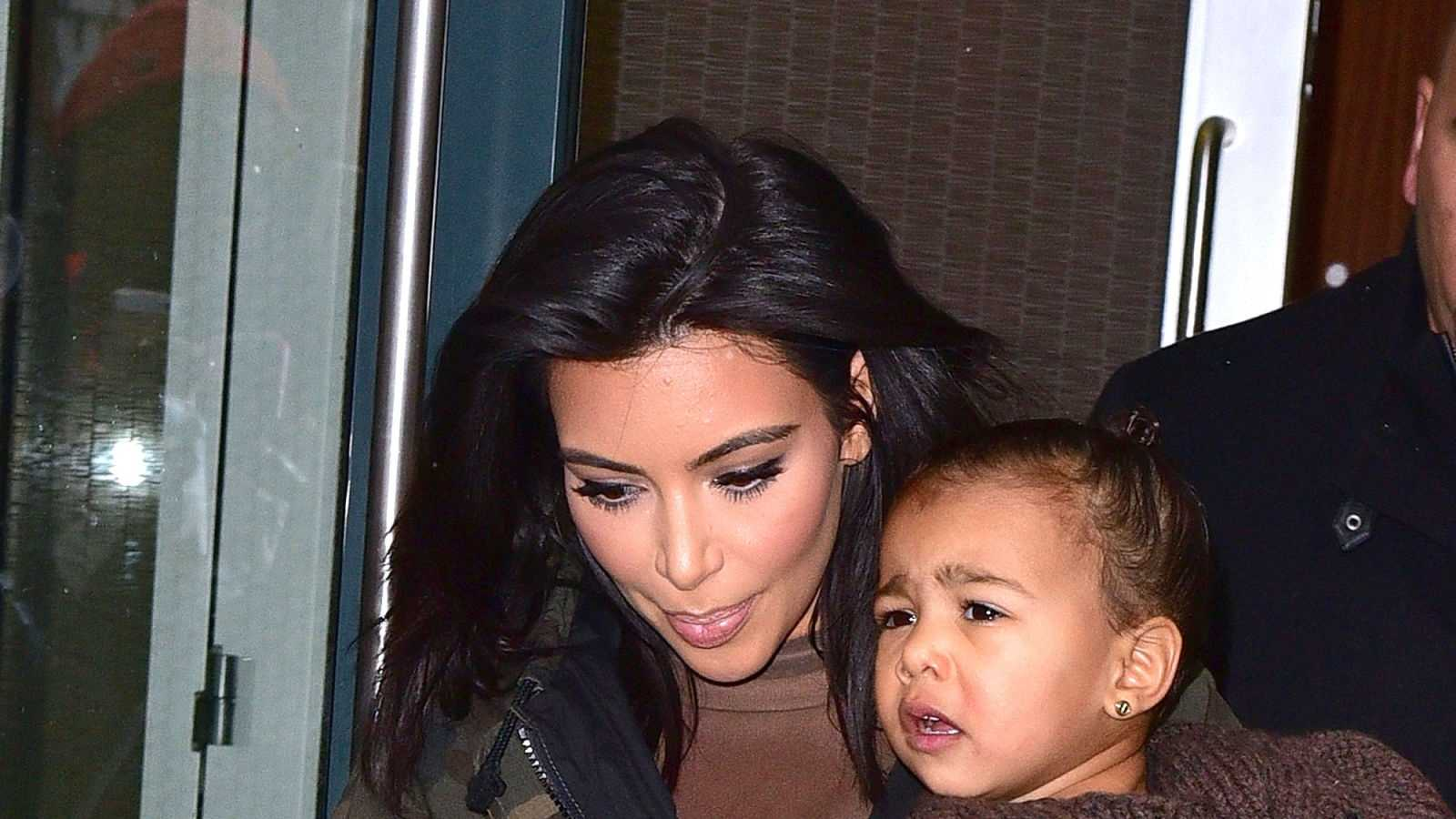 Times North West Could Not Even Kim Kardashian and North West in Manhattan on Feb. 12, 2015, in New York City.