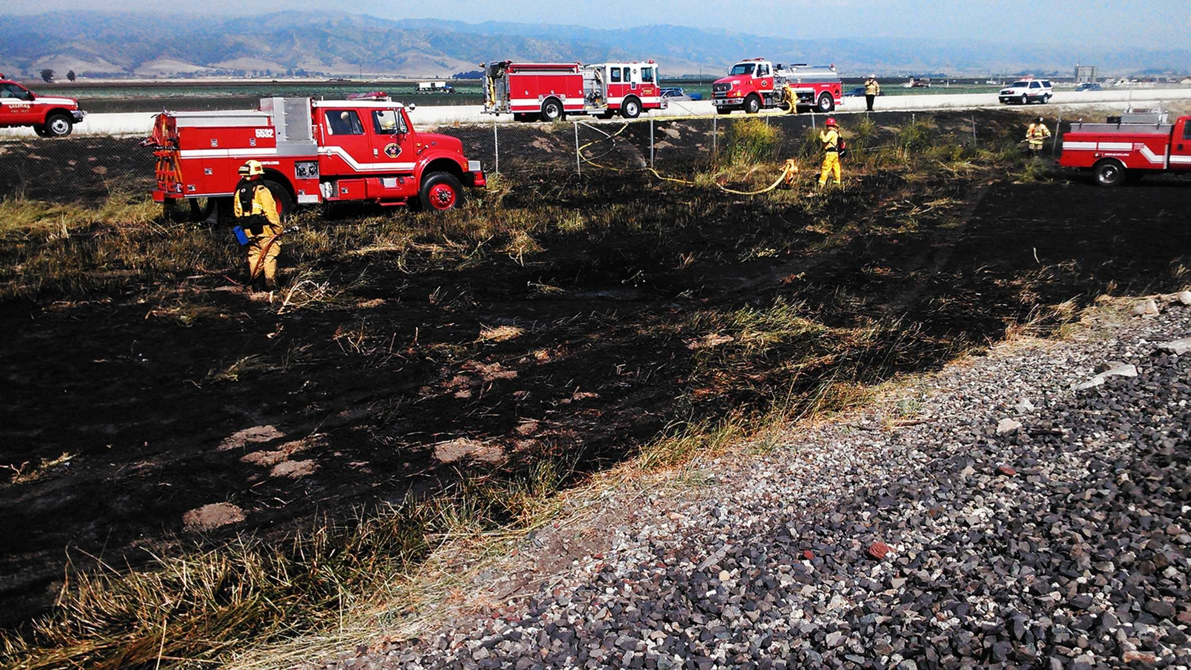 Salinas fire (April 22, 2015)